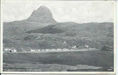 SUILVEN From Lochinver Sutherland Early Postcard