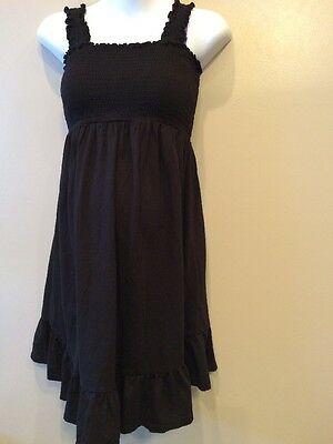 Oh Baby Medium Maternity Nursing Dress Blk
