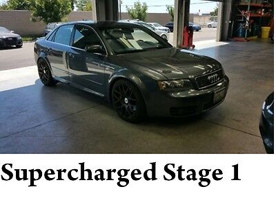 2005 Audi S4 Supercharged Stage 1 2005 Stage 1 Supercharged Audi B6 S4