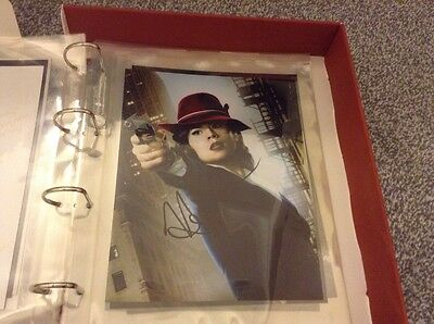 Marvel Agents of Shield/Agent Carter Genuine Autographed Photos x 5