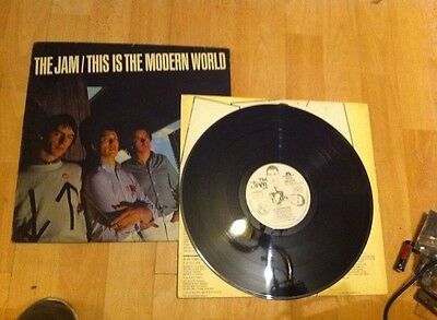 The Jam This Is The Modern World Record Vinyl Lp