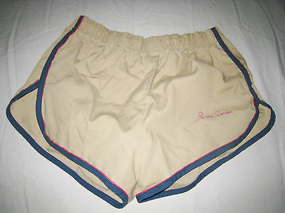 Vtg 1960's/70's Pierre Cardin Swim Suit Boys Mens Beefcake Trunks Shorts Sm