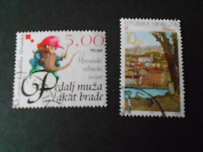 CROATIA 2 Stamps
