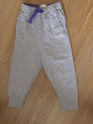 Adidas Girls Tracksuit Bottoms Age 5-6 Years
