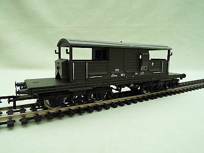 00 Gauge BR Southern Queen Mary Engineers Brake Van - Olive Green - by Bachmann