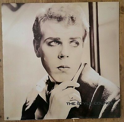 "The Style Council/paul Weller: 'walls Come Tumbling Down' 12"" Vinyl Single Ex+."