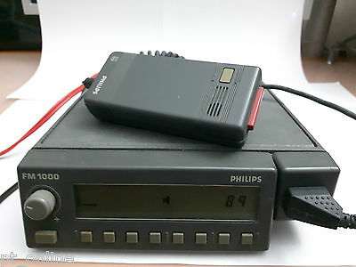 Philips FM 1100 VHF transceiver converted to HAM