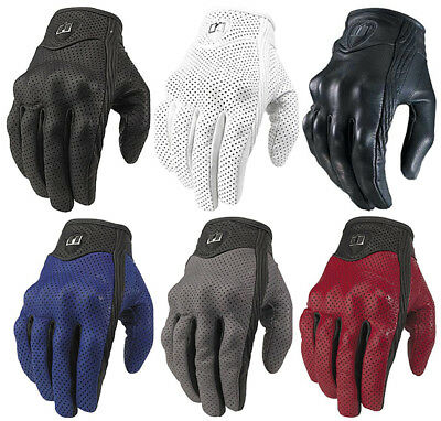 Icon Pursuit Leather Motorcycle Gloves