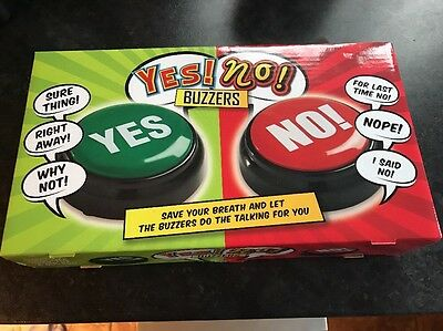 Yes No Buzzers Office Or Home Brand New In Sealed Box