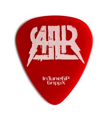 All American Rejects Mike Kennerty Red Tour Guitar Pick.