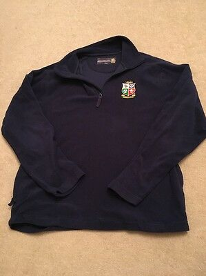 British Lions South Africa 2009 Fleece. Size M. Good Condition