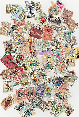 Mozambique stamps Bulk lot +- 95 used stammps (unsorted)