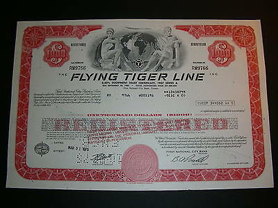 Tigers International Inc. and Flying Tiger Line bonds, 1975 and 1986