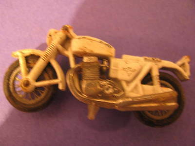 Vintage 1977  750 four,motorcycle, Diecast Metal by Lesney England #33
