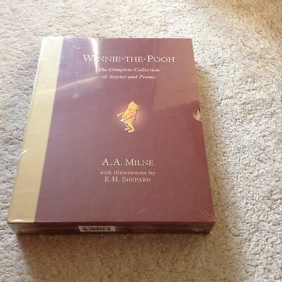 Brand New , Unopened Winnie The Pooh Collection Book