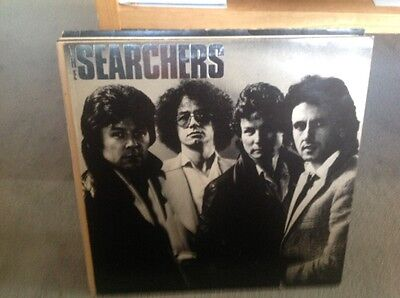 The Searchers - The Searchers LP-  SIRE 1980 VG - VG SIGNED!