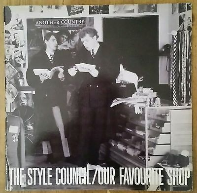 The Style Council/paul Weller: 'our Favourite Shop' Vinyl Lp. A/2 B/4 1985. Ex+.