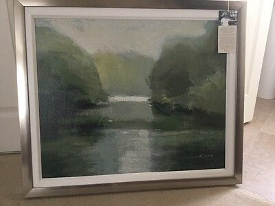 Reflection by Adelene Fletcher Signed Picture Print Framed 31 x 26 in