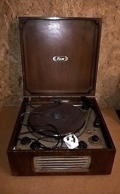 Vintage 1950s Portable Radiogram ~ not tested