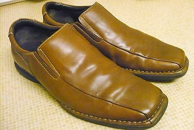 Gent's Leather Slip-on Shoes - Size 11