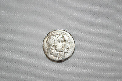 Roman Republic Silver Coin 88Bc Rare C Censorinus Ancient Pre Christian
