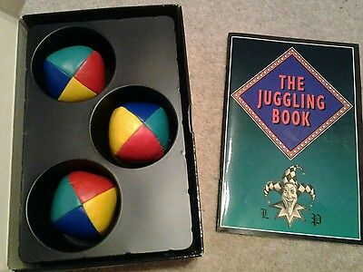 Boxed Set of 3 Juggling Balls and Instructions