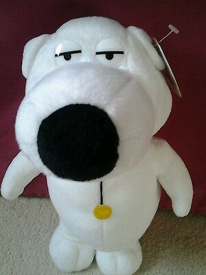 """Family Guy """"Brian"""" Plush toy with tags BRAND NEW"""