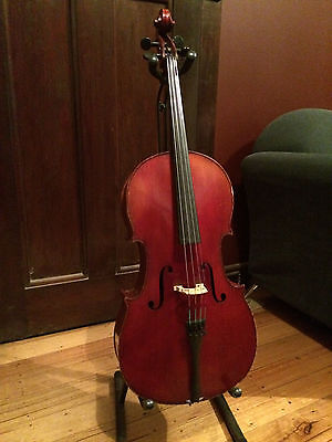 Beautiful Antique French ½ size 'Cello - Valued At $4,800.