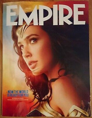 Empire Magazine 334 Wonder Woman Gal Gadot * Subscriber Only Art Cover * Dc