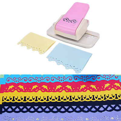 Fancy border punch S flower design embossing Punch scrapbook DIY paper cutterITB