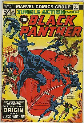 JUNGLE ACTION #8 (1973) BLACK PANTHER - ORIGIN of VENOMM - 1st appr MALICE