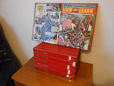 Look And Learn Magazine 153 Editions Copies 1962/63/64/65 Bound In Books