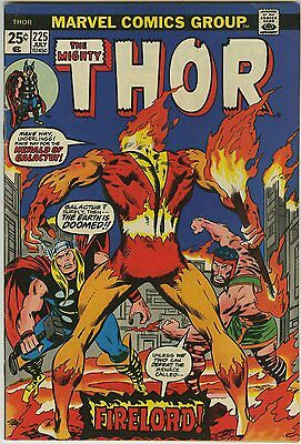 THOR #225 (1974) 1st appr FIRELORD Classic cover by John BUSCEMA - HERCULES