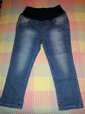 Maternity jeans size 10 Red Herring, over bump