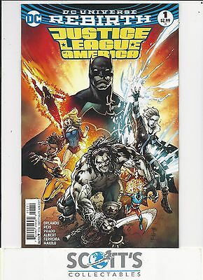 Justice League Of America  #1  New  (Bagged & Boarded) Freepost