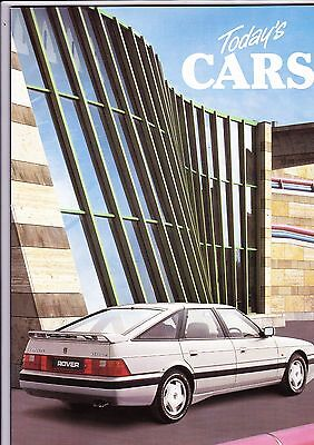 Austin Rover Cars range brochure - May-August 1988 - mint