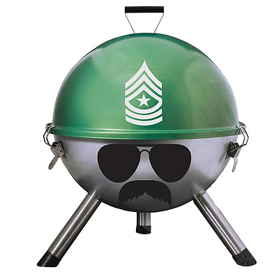 Portable Small Barbecue Charcoal BBQ Grill Kettle Party Outdoor Camping Travel