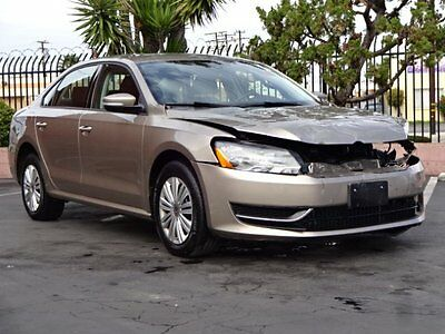 2015 Volkswagen Passat 1.8T S 2015 Volkswagen Passat 1.8T S Damaged Salvage Economical Perfect Project L@@K!!