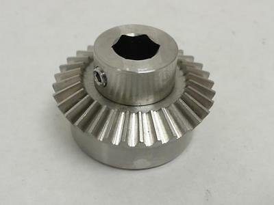 140456 New-No Box, Waldrop 1020673 Beveled Gear, 32 Teeth, 13mm ID