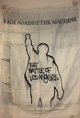 Rage Against The Machine RATM Battle of LA  29X43 Cloth Fabric Poster Flag-New