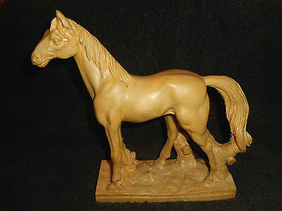 """Vintage Horse Statue Mexico 10"""" tall  s2"""