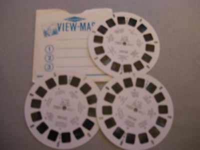 Viewmaster 3 Reel set  - Germany C4701, C 4702 and C4703