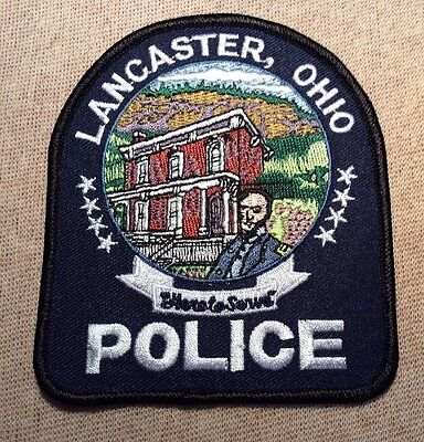 OH Lancaster Ohio Police Patch
