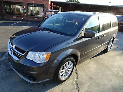 2016 Dodge Grand Caravan SXT 2016 Dodge Grand Caravan SXT Salvage Wrecked Repairable! Priced To Sell!