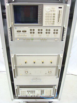 HP / Agilent 8510C 45MHz - 26.5GHz Vector Network Analyzer W/ 8511A 8515A 8340A