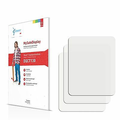 3x Vikuiti Screen Protector DQCT130 from 3M for CreAtive Zen Style M300