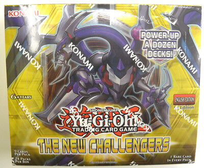 Yu-gi-oh! Yugioh The New Challengers Factory Sealed 1st Edition Booster Box