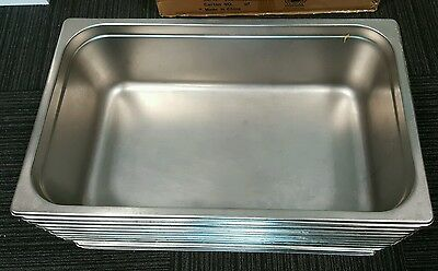 Bain Marie Trays / Steam Pans / Gastronorm Pans, 1/1 150mm, Stainless Steel