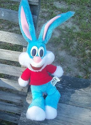ACE TinyToons Bunny Rabbit Warner Brothers Looney Tunes stuffed animal vtg 1990