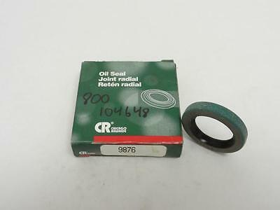 """139002 New In Box, Chicago Rawhide 9876 Oil Seal 1"""" ID, 1.499"""" OD, 1/4"""" Width"""